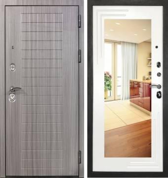 Дверь входная металлическая Гранит С7 Комфорт с зеркалом