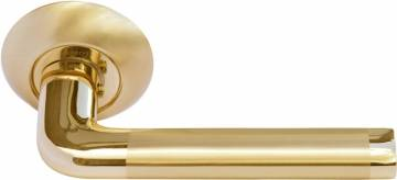 Ручка Колонна мат. золото/золото