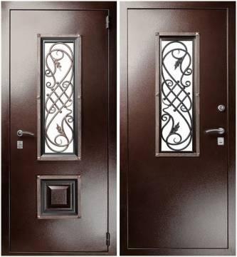 Дверь входная металлическая Гранит Коттедж