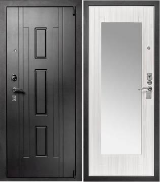 Дверь входная металлическая с зеркалом Гранит Т3М