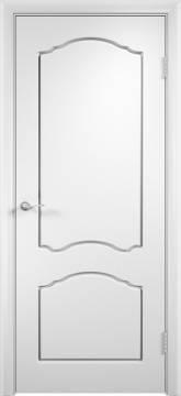 Дверь межкомнатная Альфа ПГ Белый