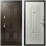 Дверь входная металлическая Гранит Т2 Люкс Белый Клен