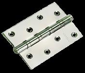 Петля MORELLI стальная универсальная MS 100X70X2.5-4BB SC Цвет - Хром Матовый
