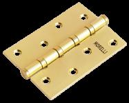 Петля MORELLI стальная универсальная MS 100X70X2.5-4BB SG Цвет - Золото Матовое