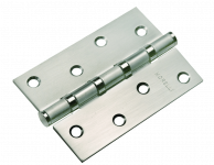 Петля MORELLI стальная универсальная MS 100X70X2.5-4BB SN Цвет - Белый Никель