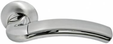 Ручка Палаццо бел. никель/хром