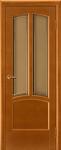 Дверь межкомнатная Виола ДО Орех Медовый