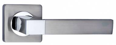 Дверная ручка Перуджа хром