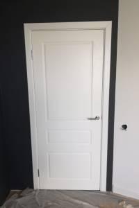 Фото пример работы по утсановке двери Честер ПГ